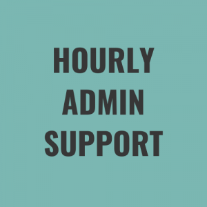 hourly admin support rate