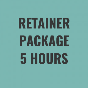 retainer package 5 hours