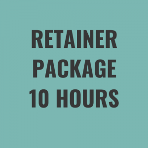 retainer package 10 hours