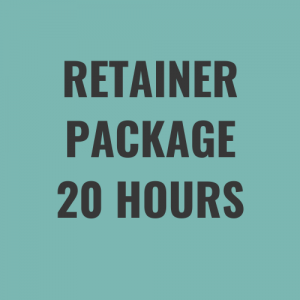 retainer package 20 hours a month